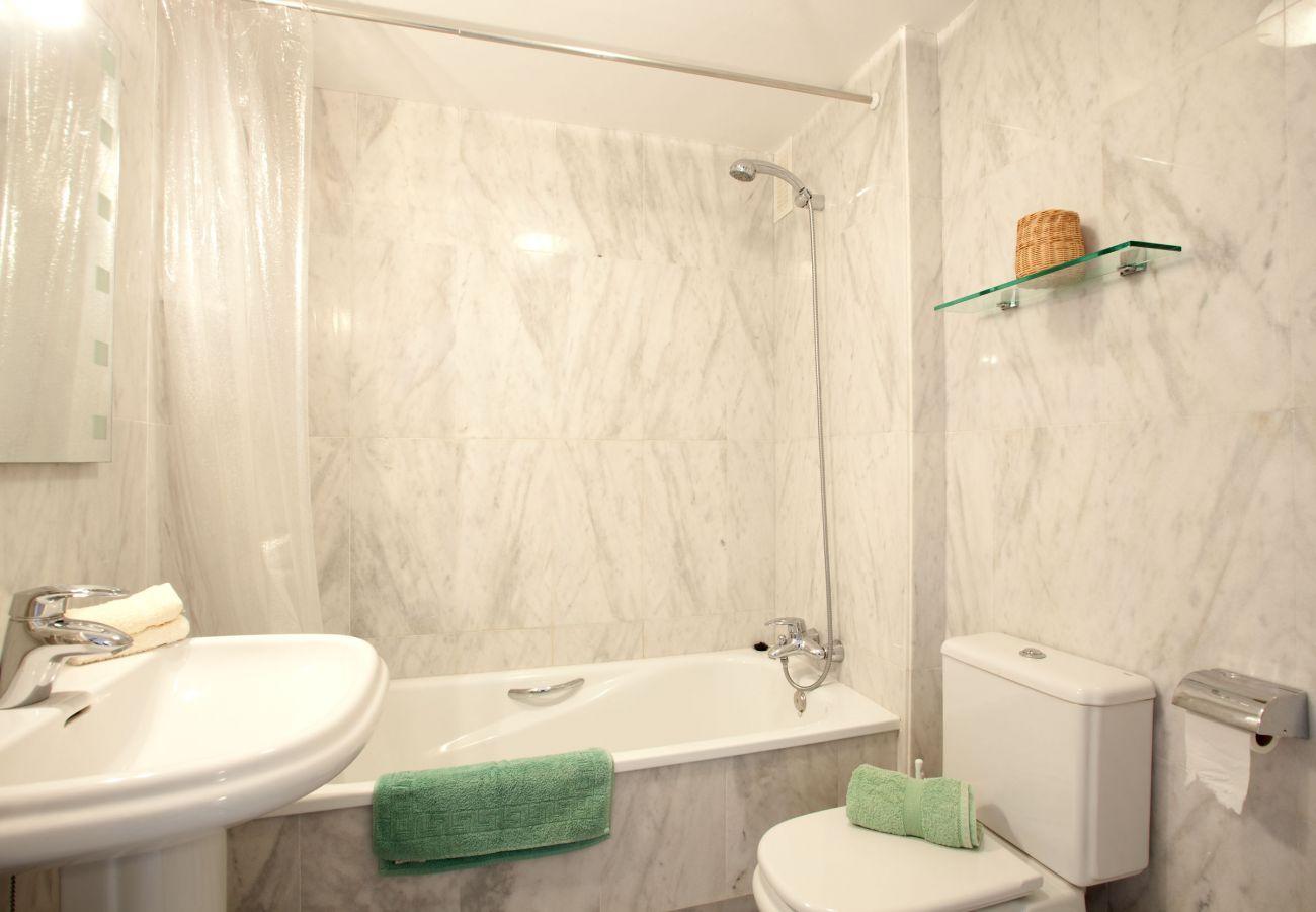 Apartamento en Mijas Costa - Apartamento de dos dormitorios con vistas al mar Mijas Costa