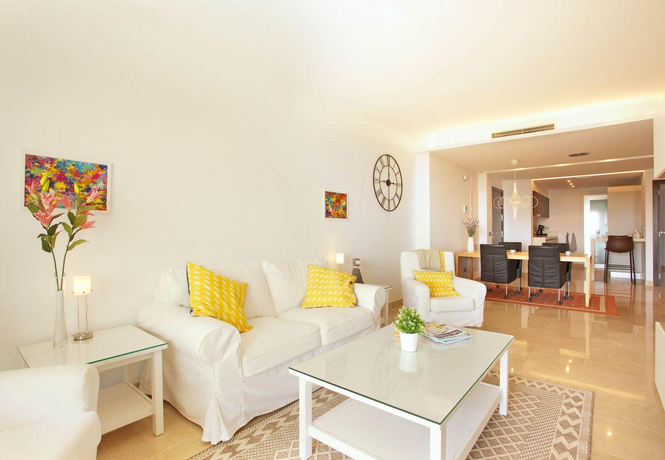 Apartamento en Ojen - Apartamento en planta baja con impresionantes vistas