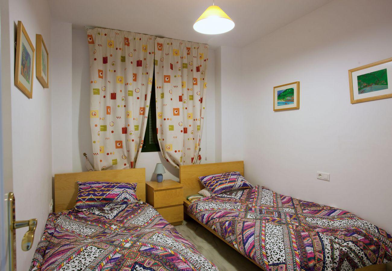 Apartamento en Mijas Costa - Apartamento de tres habitaciones Cumbres de Riviera
