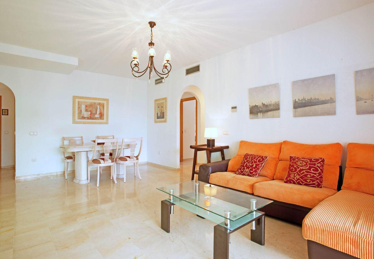 Apartamento en Marbella - Alquiler de larga temporada en Jardines de Sierra Blanca, Nagueles