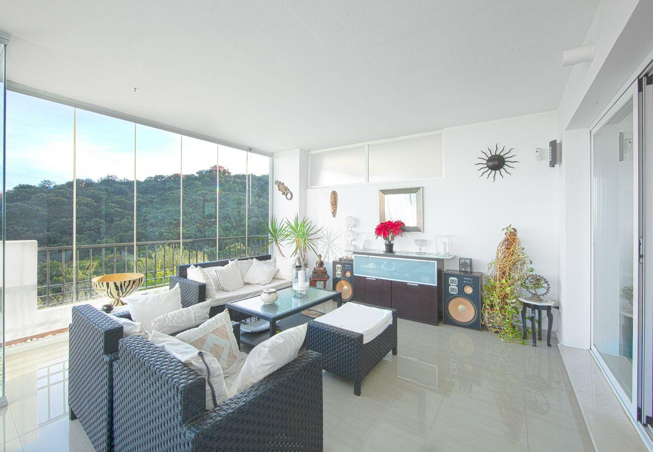 Apartamento en Ojen - apartamento en alquiler bosque de la Mairena