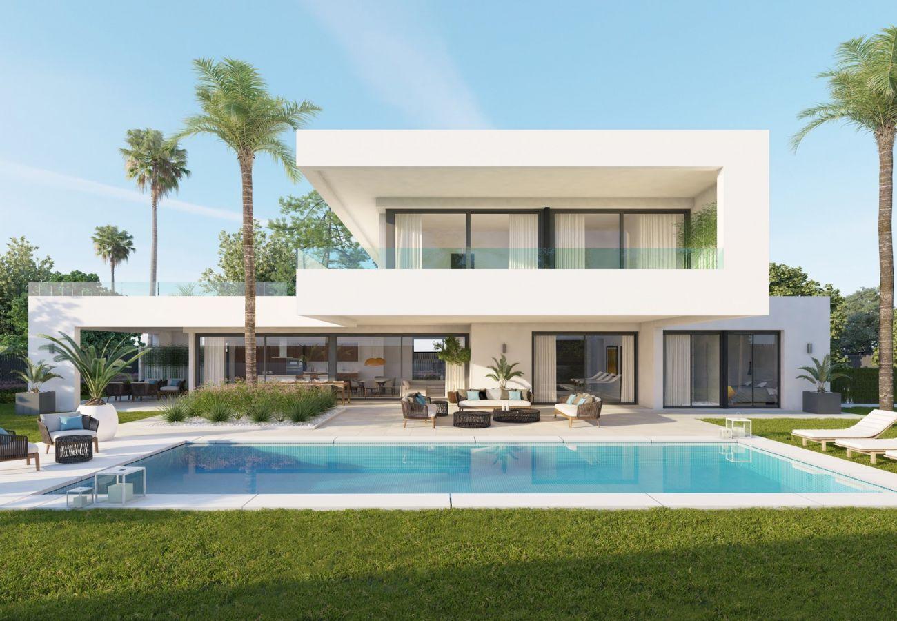 Villa en Marbella - Villa en venta en Nueva Andalucia, Los Olivos 13