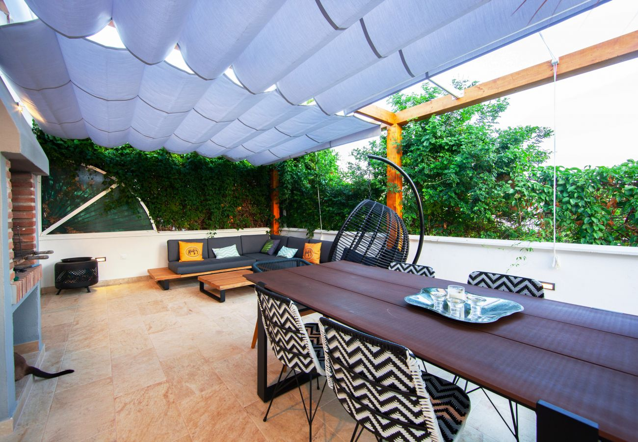 House in Marbella - Beach house with private garden at Costabella - Marbella