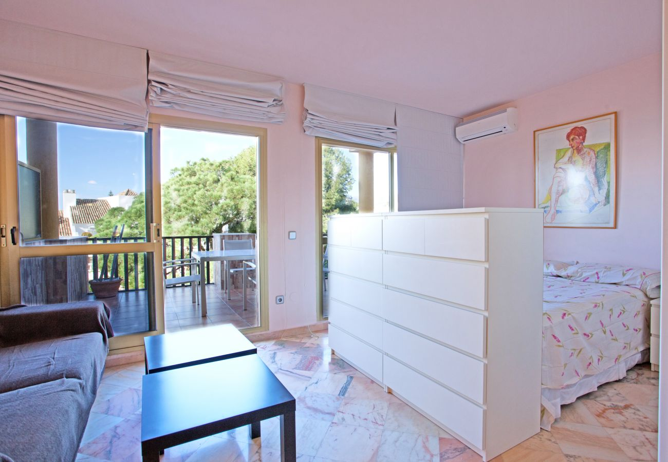 Studio in Marbella - Studio apartment with sea views in Elviria, Marbella