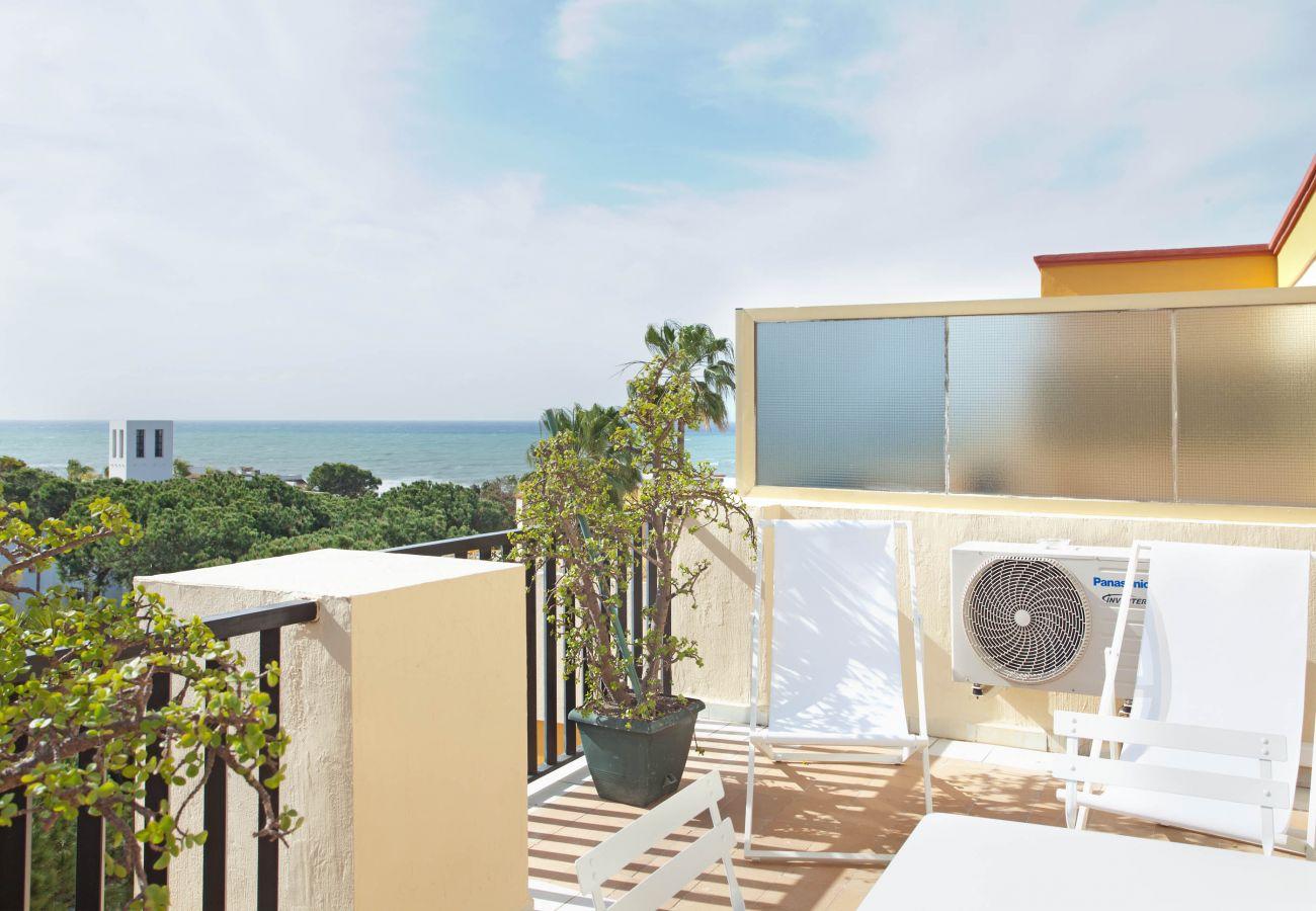 Studio in Marbella - Romana Playa 441 - Elviria, Marbella