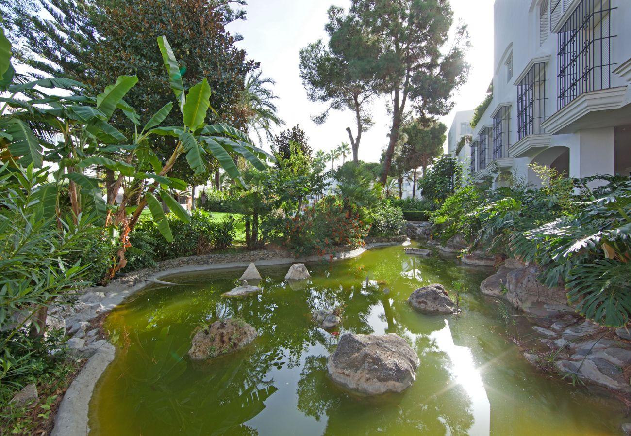 Apartment in Marbella - White Pearl beach J4, ground floor apartment next to Elviria beach