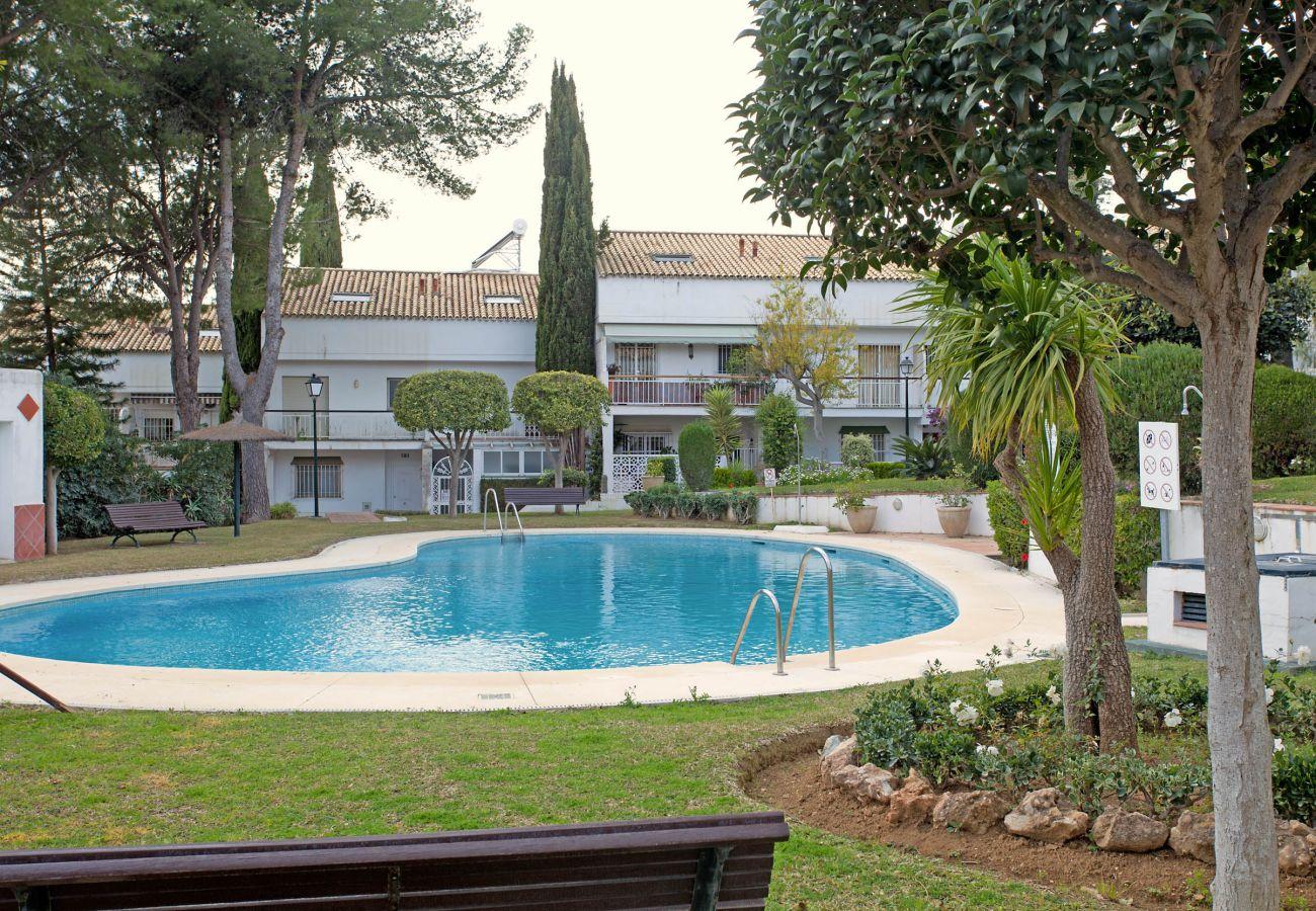 Semi-detached house in Marbella - Jardines de Marberia Townhouse long term rental Marbella