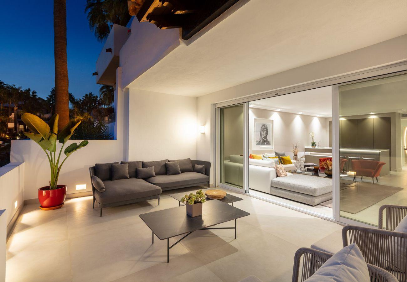 Apartment in Marbella - Ground floor apartment for sale in Puente Romano, Marbella